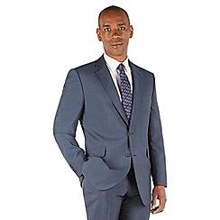 Centaur Big & Tall - Blue tonic big and tall 2 button regular fit suit