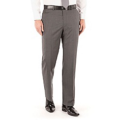 Pierre Cardin - Grey fine stripe regular fit trouser