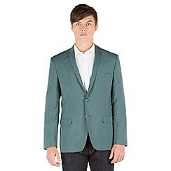 Red Herring - Green textured 2 button blazer jacket
