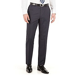 Karl Jackson - Navy stripe regular fit washable suit trouser