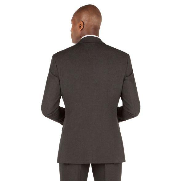 2 button suit The tailored plain Collection fit jacket Charcoal 0xXUYRw0