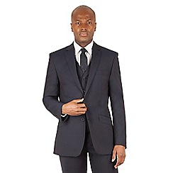 J by Jasper Conran - J by Jasper Conran Navy 2 button front tailored fit italian suit jacket