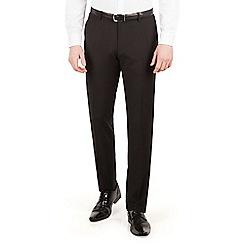 Red Herring - Black plain slim fit dress wear suit trouser