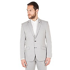 J by Jasper Conran - J by Jasper Conran Light blue 2 button front tailored fit summer suit jacket