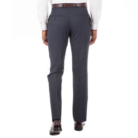 Co puppytooth Blue Hammond amp; trouser plain Grant tailored by Patrick front suit fit Tw5wg6