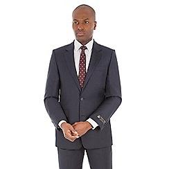 Hammond & Co. by Patrick Grant - Blue semi plain tailored fit savile row suit