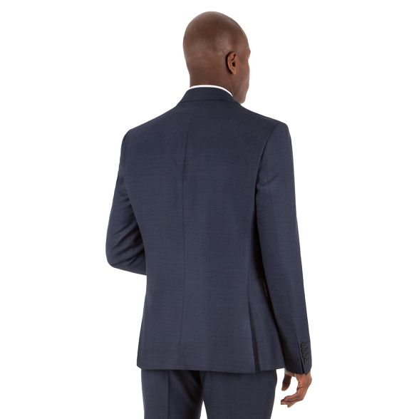Blue league Banks front Stvdio suit by jacket birdseye button Jeff 2 fit ivy tzw4wR