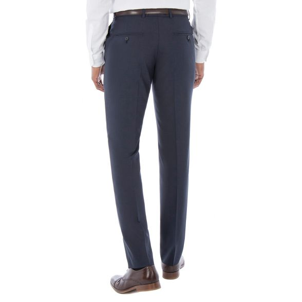 Grant plain Co blend wool tailored fit suit by check Blue amp; front Patrick tonal trouser Hammond zIqxv5wI