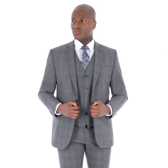 Conran tonal by wool blend jacket J Grey suit Jasper tailored check fit 4dInxEEwq
