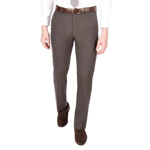 suit Brown puppytooth by Conran tailored trouser J pure wool fit Jasper WqBHntzZU