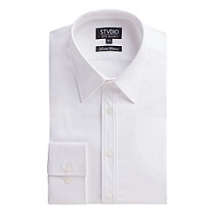 Stvdio by Jeff Banks - Limited Edition white jacquard shirt