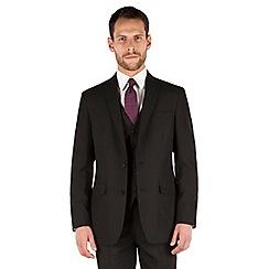 The Collection - Black plain regular fit jacket