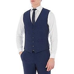 Occasions - Blue plain waistcoat