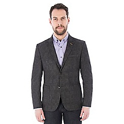 Jeff Banks - Brown checked blazer