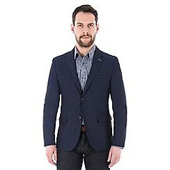 Jeff Banks - Navy textured blazer