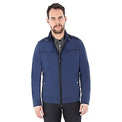 Jeff Banks - Blue epaulette jacket