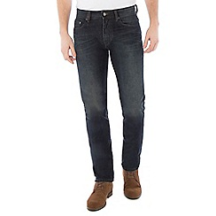 Jeff Banks - Dark blue vintage wash jean