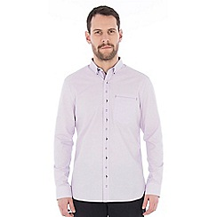 Jeff Banks - Lilac spot dobby shirt