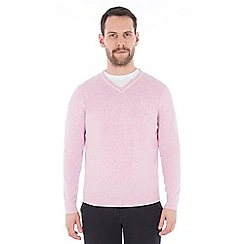Jeff Banks - Pink v neck jumper