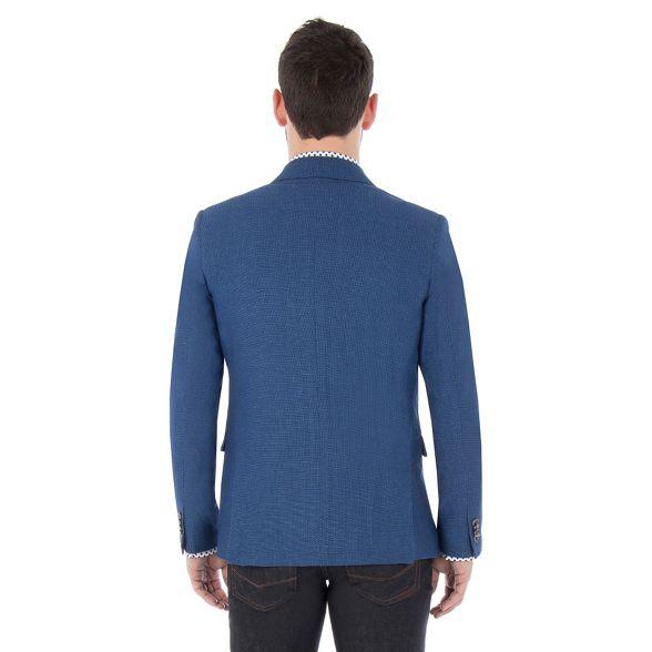 blazer Blue Banks birdseye Jeff weave n1Pqvw5wIx