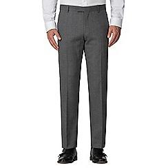 Racing Green - Grey jaspe tailored trouser