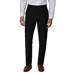 The Collection - Black regular fit trouser