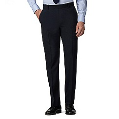 The Collection - Navy regular fit trouser