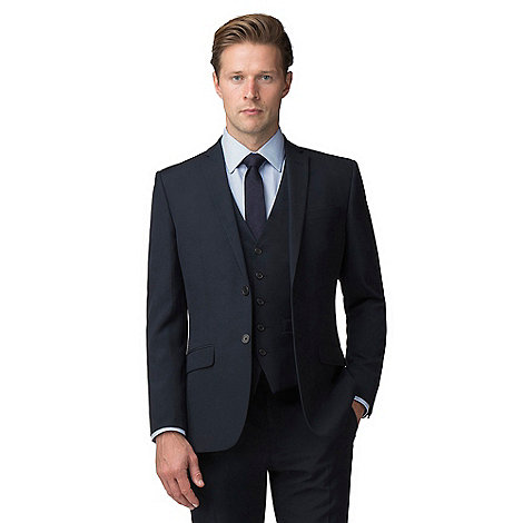 The Collection - Navy tailored fit suit