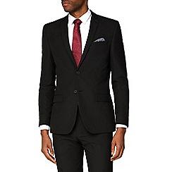 Red Herring - Black slim fit suit