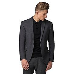 Red Herring - Grey donegal slim fit jacket