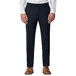 Red Herring - Deep blue Donegal slim trouser