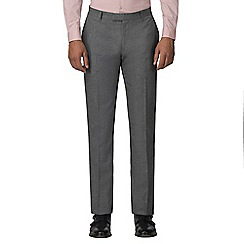 Red Herring - Smoked grey jaspe slim fit trousers