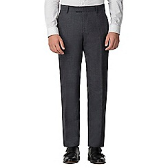Ben Sherman - Charcoal speckle tailored fit trouser
