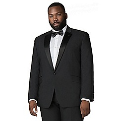 Centaur Big & Tall - Black dresswear suit