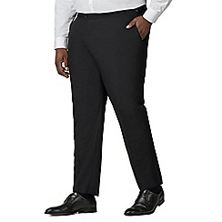Centaur Big & Tall - Black dresswear trousers
