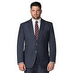 Centaur Big & Tall - Navy tonal check jacket