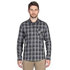 Jeff Banks - Grey gradual check shirt