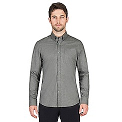 Jeff Banks - Grey melange shirt