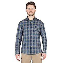 Jeff Banks - Navy check shirt