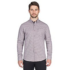 Jeff Banks - Berry maze dobby shirt