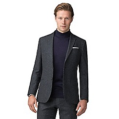J by Jasper Conran - Airforce speckle tailored suit