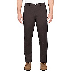 Jeff Banks - Charcoal twill chino trouser