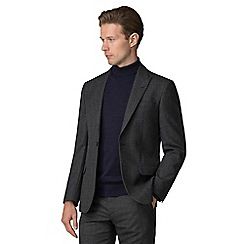 J by Jasper Conran - Grey jaspe check tailored jacket