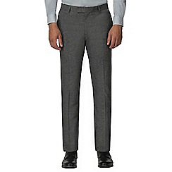 Red Herring - Blue grey heritage structured weave slim fit trouser