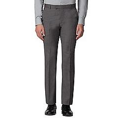 Ben Sherman - Salt and pepper micro slim fit trousers