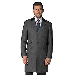 Stvdio by Jeff Banks - Grey texture overcoat
