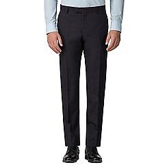 Ben Sherman - Navy mulberry gingham slim fit trouser