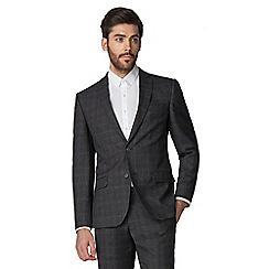 Racing Green - Charcoal with rust check tailored suit