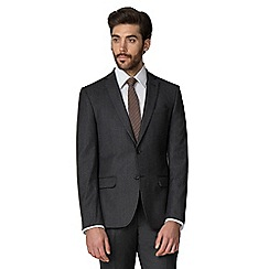 Racing Green - Charcoal flannel tailored suit