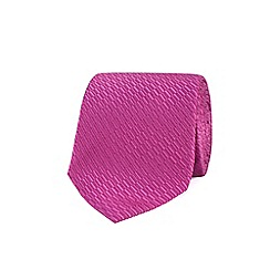 Stvdio by Jeff Banks - Rose irregular textured tie